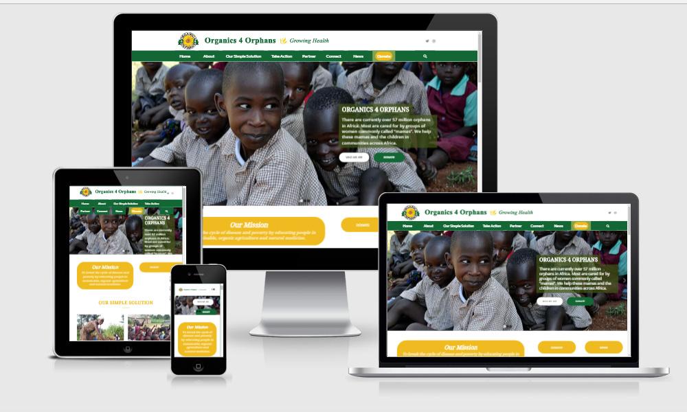 organics 4 orphans portfolio