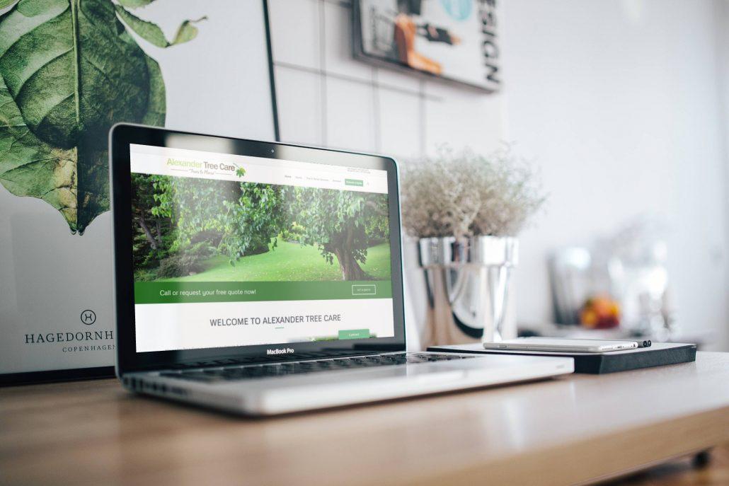 Alexander Tree Care - Website Design by Rosewood VA Newmarket