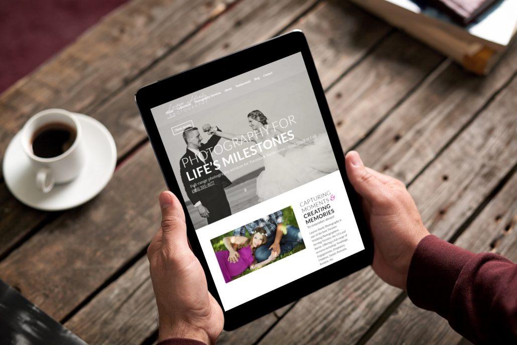 Lauren Hardy Photography - Website Design by Newmarket - Rosewood VA